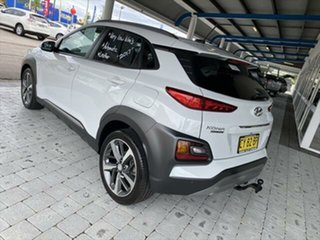 2017 Hyundai Kona Highlander White Sports Automatic Wagon