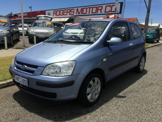 Used Hyundai Getz TB GL Victoria Park, 2005 Hyundai Getz TB GL Blue 5 Speed Manual Hatchback