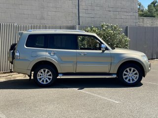2010 Mitsubishi Pajero NT MY10 Exceed Gold 5 Speed Sports Automatic Wagon