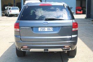 2013 Ford Territory SZ Titanium (RWD) Grey 6 Speed Automatic Wagon