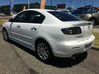 2009 Mazda 3 BK MY08 Maxx Sport White 4 Speed Auto Activematic Sedan