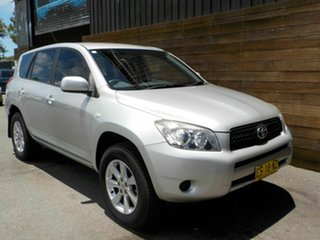 2008 Toyota RAV4 ACA33R MY08 CV Silver 5 Speed Manual Wagon.