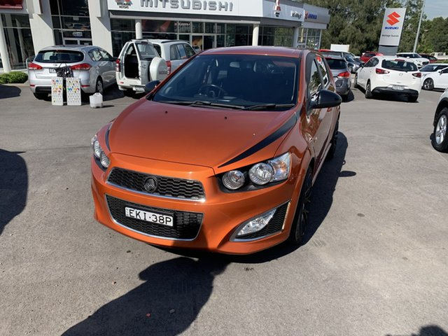 Used Holden Barina TM MY14 RS Maitland, 2013 Holden Barina TM MY14 RS Orange 6 Speed Manual Hatchback