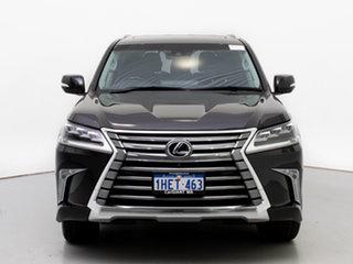 2016 Lexus LX570 URJ201R Facelift Black 8 Speed Automatic Wagon.