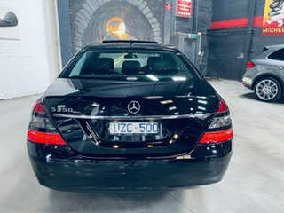 2007 Mercedes-Benz S-Class W221 MY08 S350 Black 7 Speed Automatic Sedan