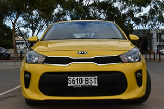 2017 Kia Rio YB MY17 S Yellow 4 Speed Sports Automatic Hatchback.