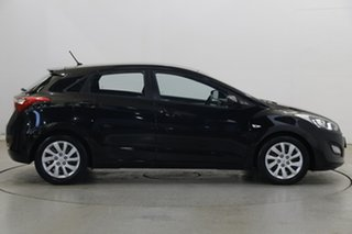 2015 Hyundai i30 GD3 Series II MY16 Active DCT Black 7 Speed Sports Automatic Dual Clutch Hatchback
