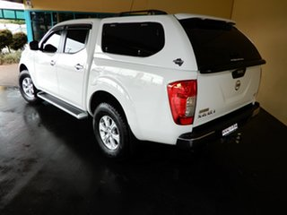 2015 Nissan Navara NP300 D23 ST (4x4) White 6 Speed Manual Dual Cab Utility.
