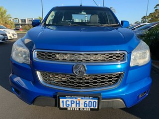 2014 Holden Colorado RG MY14 LX Space Cab Blue 6 Speed Sports Automatic Cab Chassis.