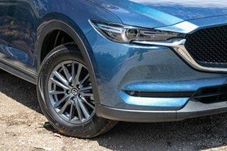 2019 Mazda CX-5 KF2W7A Maxx SKYACTIV-Drive FWD Blue 6 Speed Sports Automatic Wagon.