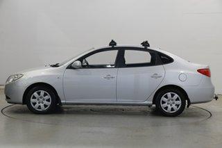 2010 Hyundai Elantra HD MY10 SLX Continental Silver 4 Speed Automatic Sedan.