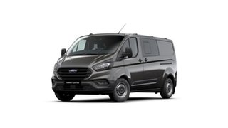 2021 Ford Transit Custom VN 2021.25MY 340L (Low Roof) Magnetic 6 Speed Automatic Double Cab Van.