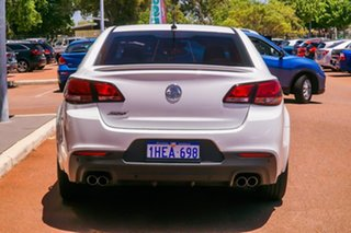 2014 Holden Commodore VF MY14 SS V White 6 Speed Sports Automatic Sedan.