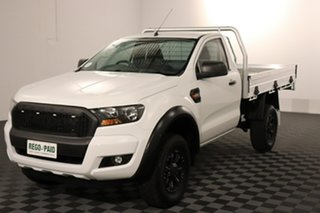 2016 Ford Ranger PX MkII XL White 6 speed Automatic Cab Chassis.