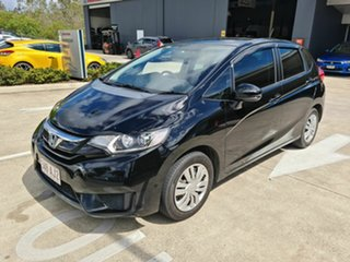 2016 Honda Jazz GF MY16 VTi Black 5 Speed Manual Hatchback
