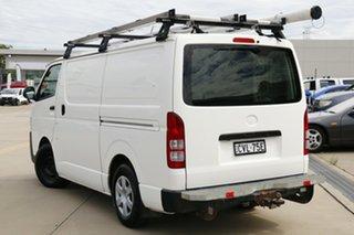 2015 Toyota HiAce KDH201R MY14 LWB White 5 Speed Manual Van.