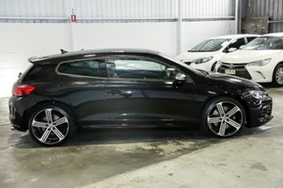 2016 Volkswagen Scirocco 1S MY16 R Coupe Black 6 Speed Manual Hatchback