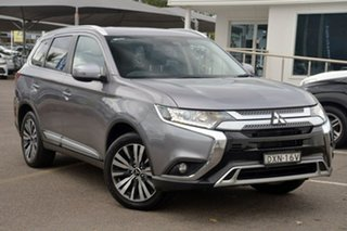 2018 Mitsubishi Outlander ZL MY18.5 LS AWD Grey 6 Speed Constant Variable Wagon.