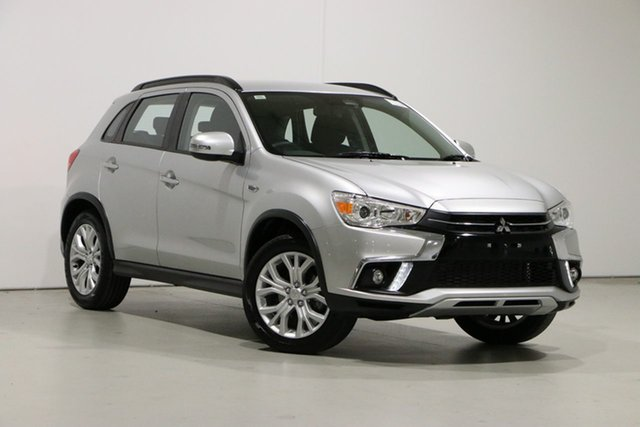 Used Mitsubishi ASX XC MY19 ES ADAS ( 2WD) Bentley, 2018 Mitsubishi ASX XC MY19 ES ADAS ( 2WD) Silver Continuous Variable Wagon