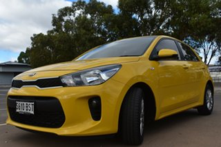 2017 Kia Rio YB MY17 S Yellow 4 Speed Sports Automatic Hatchback