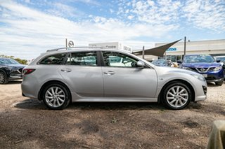 2010 Mazda 6 GH1052 MY10 Classic Silver 5 Speed Sports Automatic Wagon