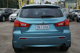2011 Mitsubishi ASX XA MY11 2WD Blue 6 Speed Constant Variable Wagon