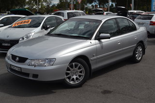 2003 Holden Commodore VY Equipe Silver 4 Speed Automatic Sedan.