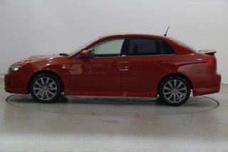 2009 Subaru Impreza G3 MY10 WRX AWD Red 5 Speed Manual Sedan.