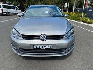 2014 Volkswagen Golf VII MY14 90TSI DSG Comfortline Silver 7 Speed Sports Automatic Dual Clutch.