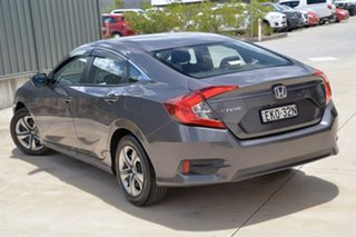 2018 Honda Civic 10th Gen MY18 VTi Grey 1 Speed Constant Variable Sedan.