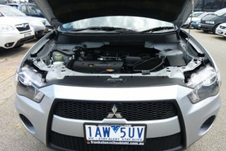 2011 Mitsubishi Outlander ZH MY11 LS 2WD Silver 6 Speed Constant Variable Wagon