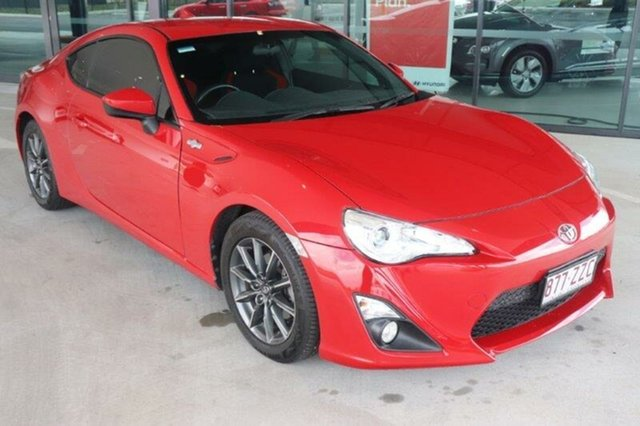 Used Toyota 86 ZN6 GT Augustine Heights, 2014 Toyota 86 ZN6 GT Lightning Red 6 Speed Manual Coupe
