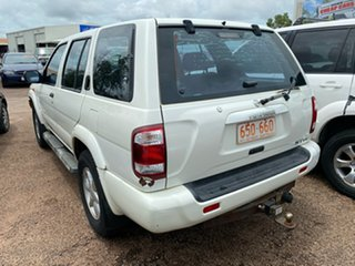 2003 Nissan Pathfinder WX II MY2003 ST White 4 Speed Automatic Wagon