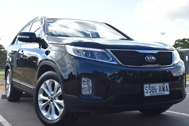 Used Kia Sorento XM MY13 SLi St Marys, 2012 Kia Sorento XM MY13 SLi Black 6 Speed Sports Automatic Wagon