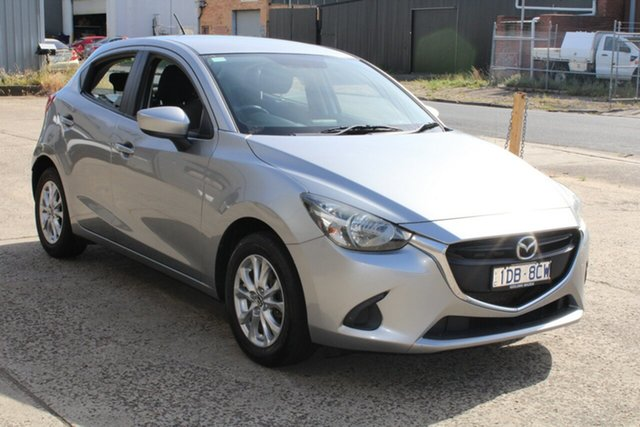 Used Mazda 2 DJ Maxx West Footscray, 2014 Mazda 2 DJ Maxx Grey & Black 6 Speed Manual Hatchback