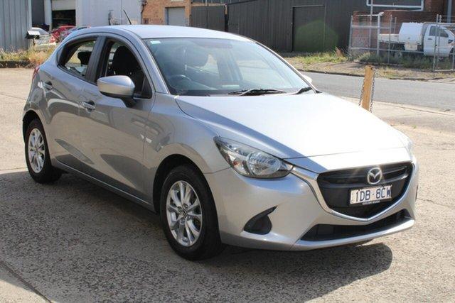 Used Mazda 2 DJ Maxx West Footscray, 2014 Mazda 2 DJ Maxx Grey & Black 6 Speed Manual Hatchback
