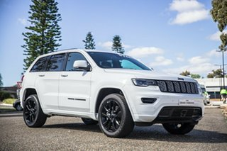 2020 Jeep Grand Cherokee WK MY20 Night Eagle Bright White 8 Speed Sports Automatic Wagon.