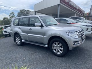 2019 Mitsubishi Pajero NX MY20 GLX Sterling Silver 5 Speed Sports Automatic Wagon