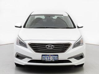 2016 Hyundai Sonata LF Elite White 6 Speed Automatic Sedan.
