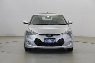 2012 Hyundai Veloster FS + Coupe D-CT Silver 6 Speed Sports Automatic Dual Clutch Hatchback.