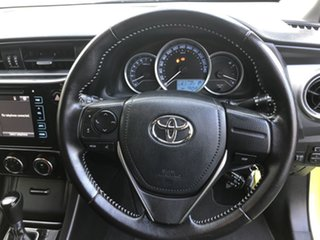 2015 Toyota Corolla ZRE182R Ascent Sport S-CVT Green 7 Speed Constant Variable Hatchback