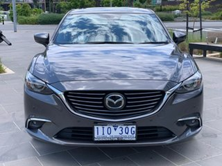2016 Mazda 6 GL1031 Atenza SKYACTIV-Drive Grey 6 Speed Sports Automatic Sedan.