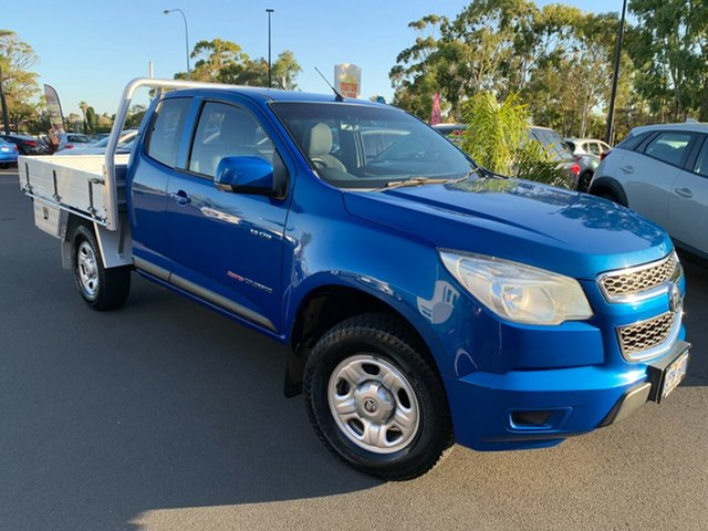 Used Holden Colorado RG MY14 LX Space Cab Bunbury, 2014 Holden Colorado RG MY14 LX Space Cab Blue 6 Speed Sports Automatic Cab Chassis