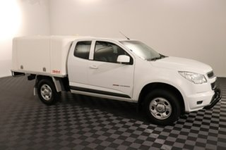 2014 Holden Colorado RG MY15 LS Space Cab White 6 speed Automatic Cab Chassis