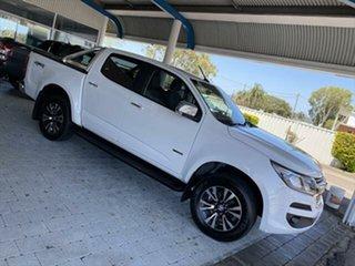 2019 Holden Colorado LTZ White Sports Automatic Dual Cab Utility.