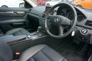 2010 Mercedes-Benz C-Class W204 MY10 C250 CGI Avantgarde Grey 5 Speed Sports Automatic Sedan