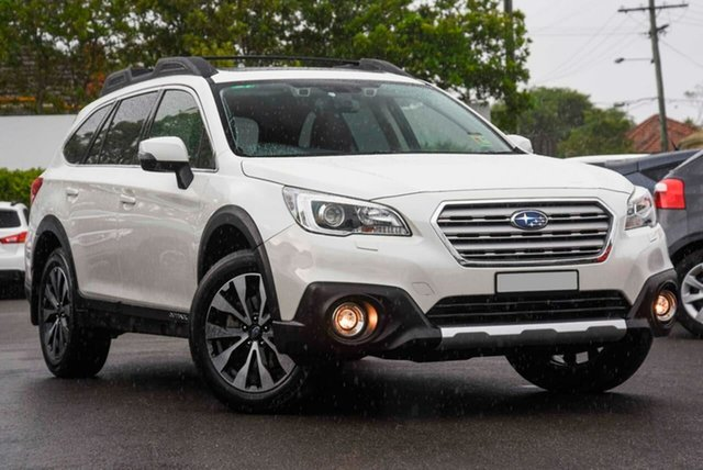 Used Subaru Outback B6A MY17 2.0D CVT AWD Premium Mount Gravatt, 2017 Subaru Outback B6A MY17 2.0D CVT AWD Premium White 7 Speed Constant Variable Wagon