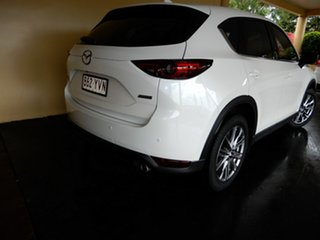 2018 Mazda CX-5 MY18 (KF Series 2) Akera (4x4) (5Yr) White 6 Speed Automatic Wagon