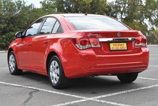 2011 Holden Cruze JH Series II MY11 CD Red 6 Speed Sports Automatic Sedan