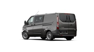 2021 Ford Transit Custom VN 2021.25MY 340L (Low Roof) Magnetic 6 Speed Automatic Double Cab Van